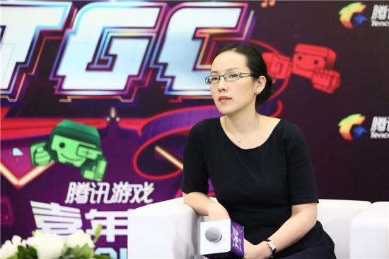 腾讯游戏市场部副总经理 高莉