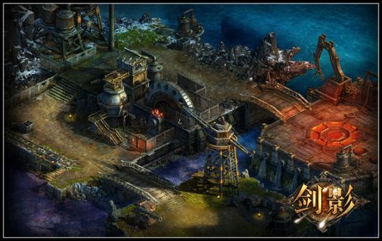 魔幻中的科技 蒸汽工厂