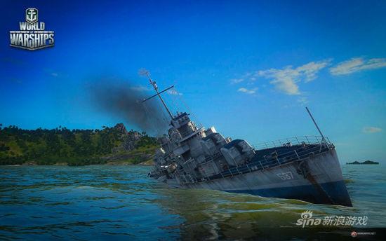 《战舰世界》内部Alpha测试 曝驱逐舰新图
