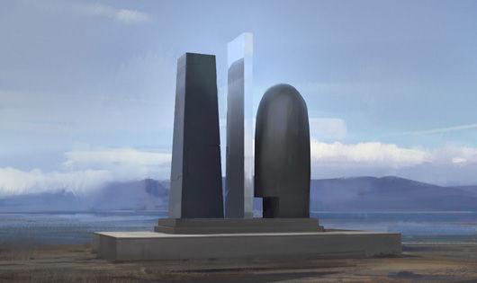 纪念碑设计图
