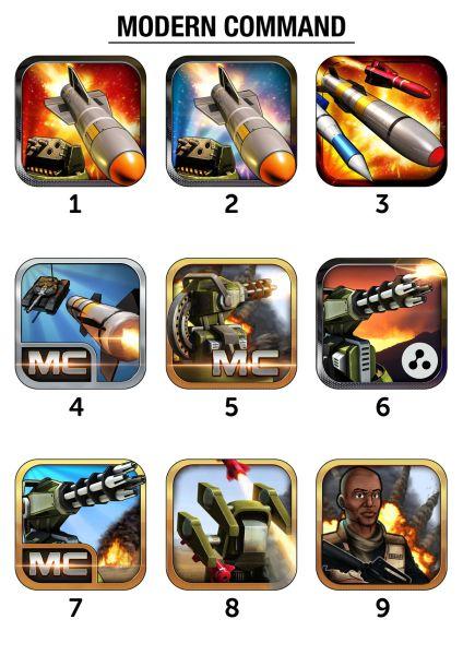 对于这款军事策略游戏,开发商level 8工作室提出了多个针对图标不同