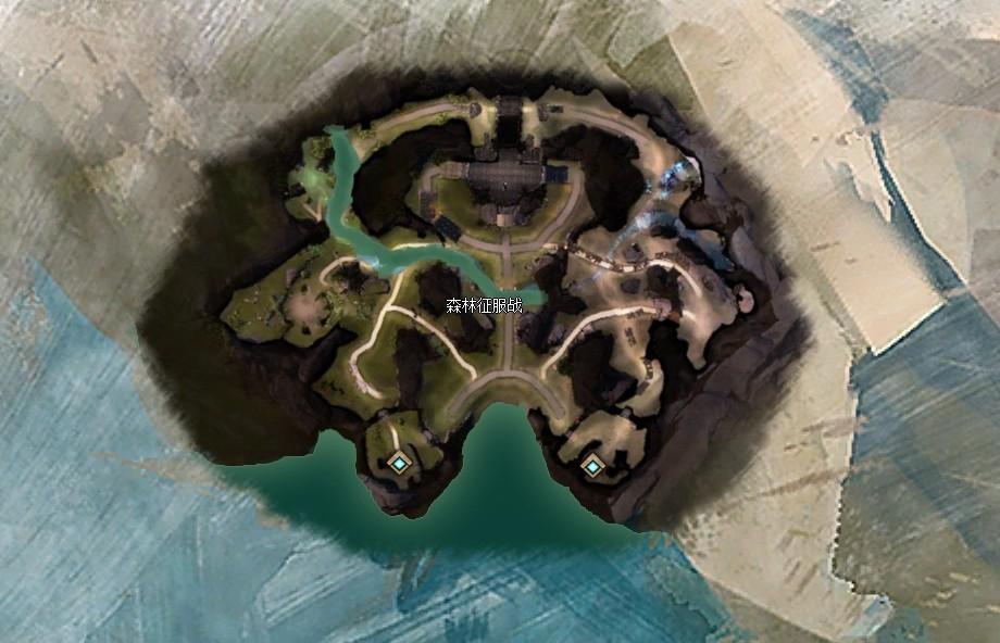 《激战2》六大PVP地图之尼菲尔森林