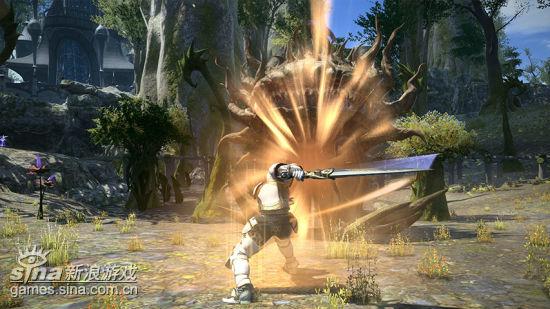 《最终幻想14》战斗截图