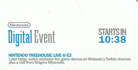 E3 2014:任天堂直面会全程报道