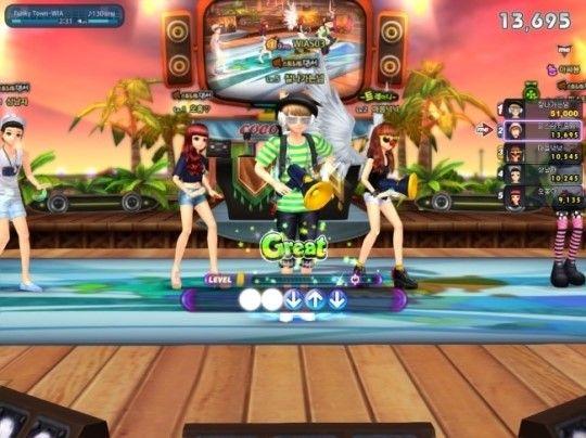 《劲舞团3》游戏截图
