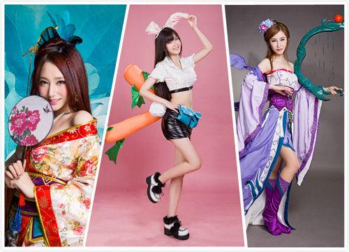 飞鱼科技展台ShowGirl