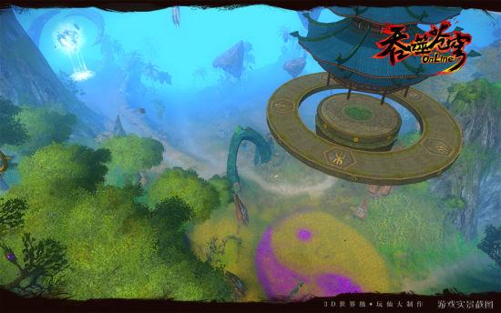 内测收妖寻宝《吞噬苍穹》神秘多宝岛