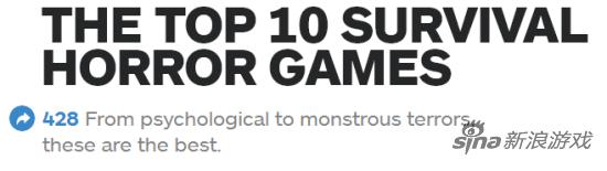 恐怖游戏top10