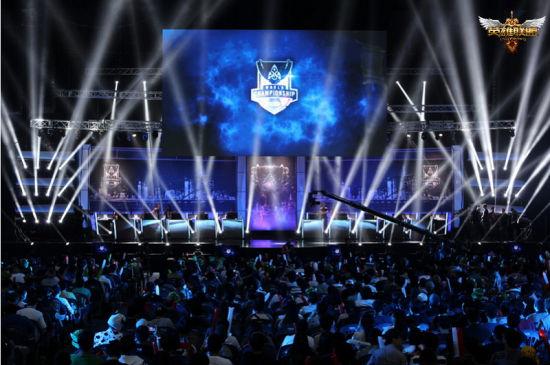 《英雄联盟》2014赛季全球总决赛现场