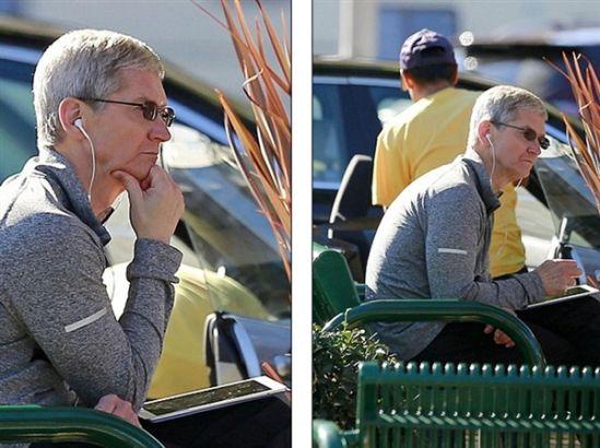 苹果CEO库克出柜后独自过生日