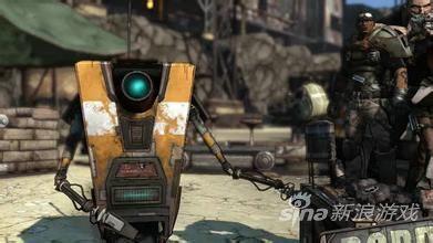 无主之地经典的机器人形象