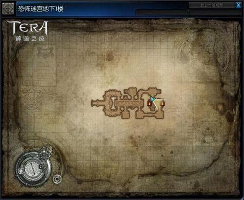 恐怖迷宫1层地图