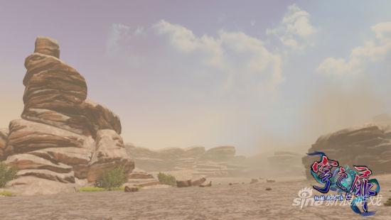 《轩辕剑外传穹之扉》场景实际截图――遐荒金谷