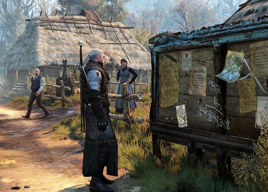 《巫师3》游戏截图