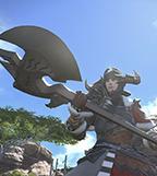 最终幻想14战士