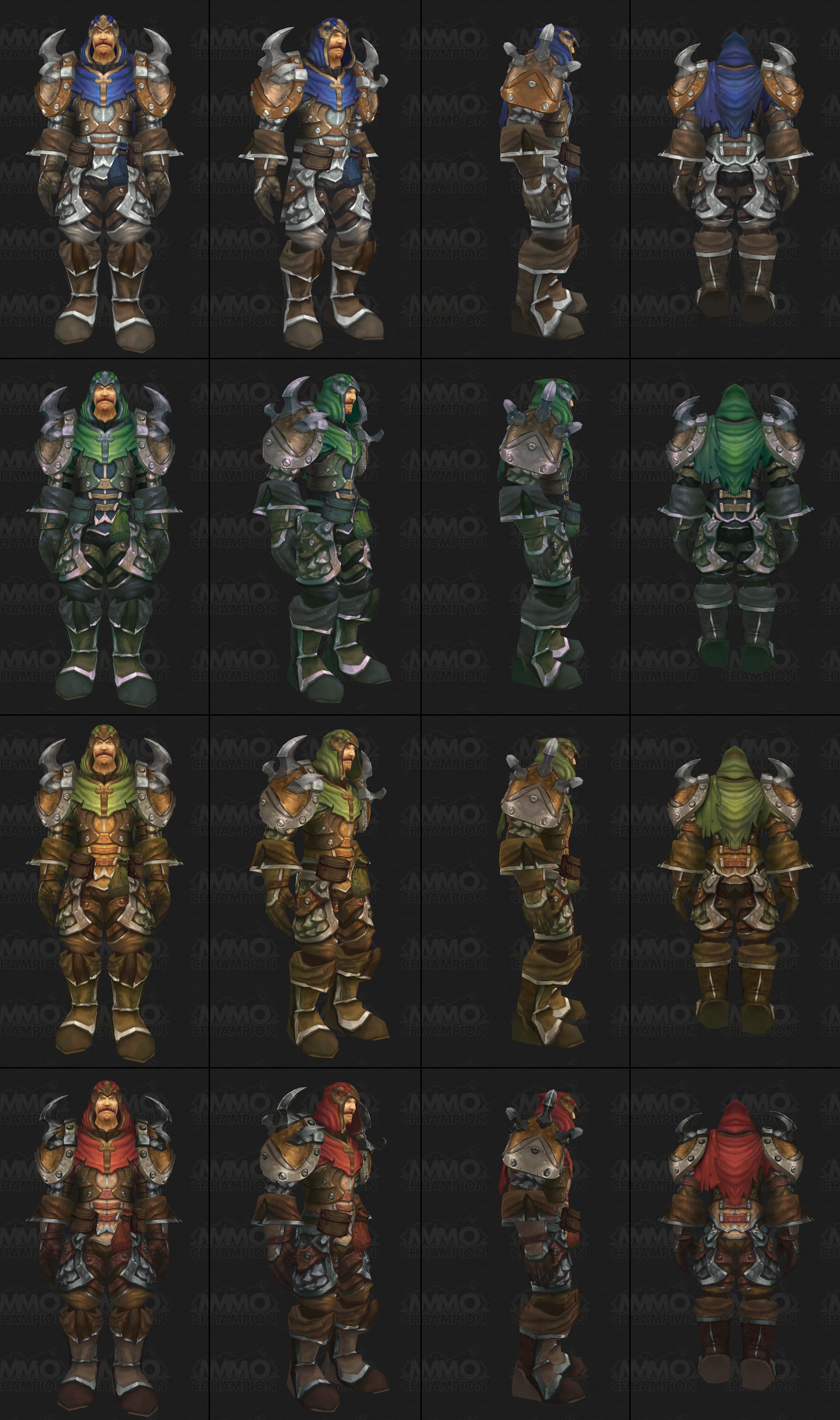 魔兽6.2 PTR 猎人T18预览