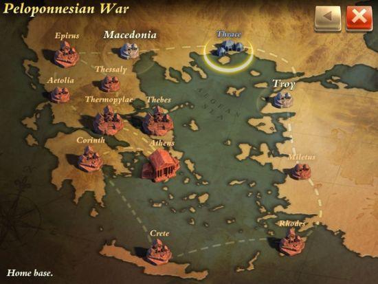图注:伯罗奔尼撒之战关卡