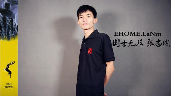 EHOME战队夏季定妆照