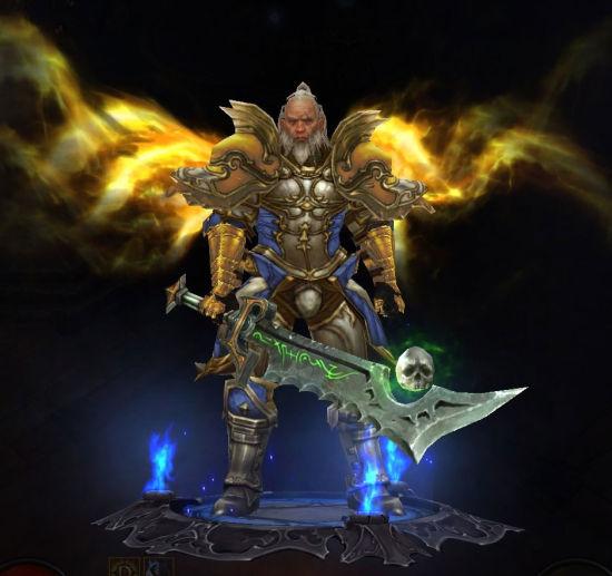 魔兽世界乱入暗黑3:提里奥弗丁的神级幻化cos