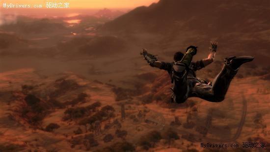 《正当防卫2》(Just Cause 2):开放式游戏环境作品,一代评价就不错。