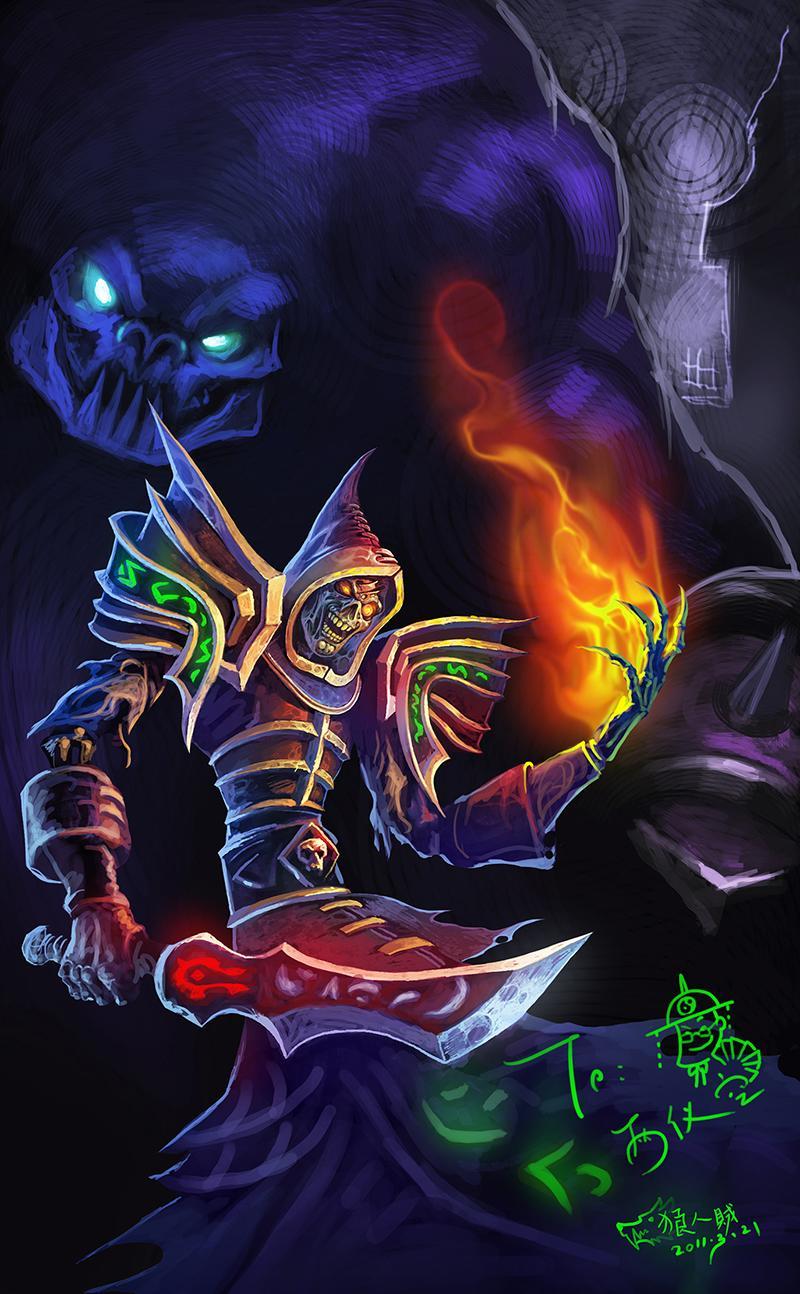 人的贺图:亡灵术士