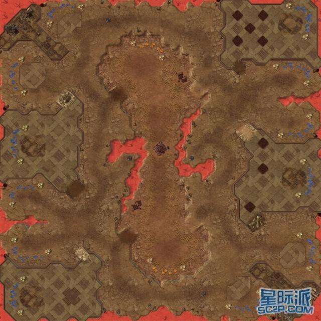 星际争霸2地图 红石塔桑尼斯-red stone tarsonis