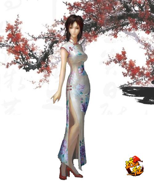 旗袍美女性感来袭