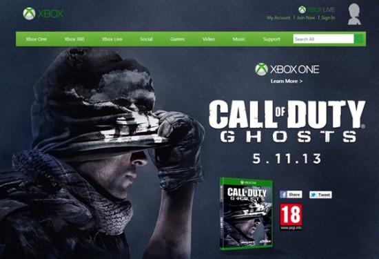 微软官网疑似泄露Xbox One上市日期