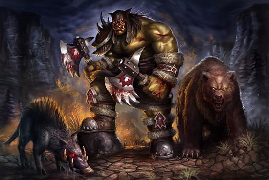 雷克萨 - 部落的勇士