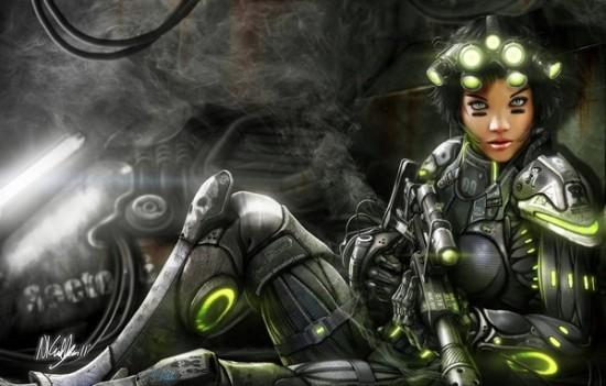 风暴英雄角色故事:幽灵特工与奥丁机器人