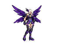 DNF女格斗模型全时装改黑色天空9