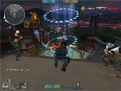 CF新版本生化剑客模式实战 成就生化竞技梦