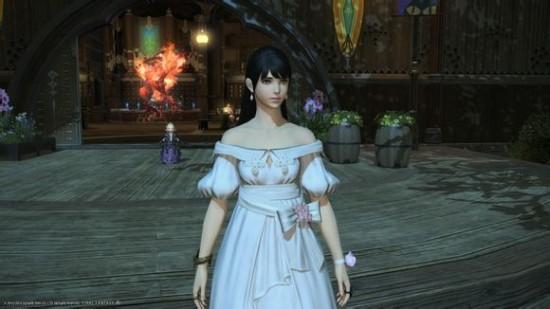 FF14幻化搭配技巧:美美的春裙要这样穿