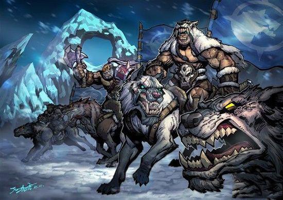 时 一己之力单挑几个食人魔;在得知大哥芬里斯是雷神氏族酋长,并杀害