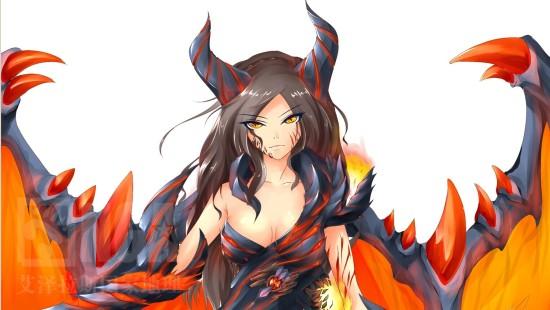 dota大联萌:玩家手绘性感女英雄恭贺羊年-dota2官网