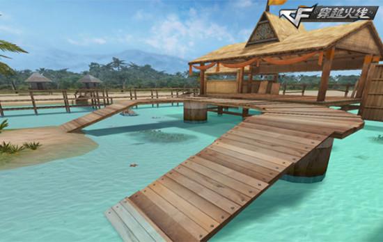 穿越火线新版本海滩派对 上线暑期狂欢再升级