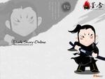新浪游戏_韩国网游《墨香》卡通壁纸