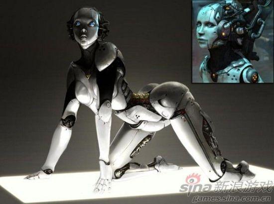 性感的机器人