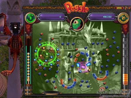 Peggle是一个弹珠台游戏