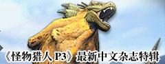 《怪物猎人P3》最新中文杂志特辑