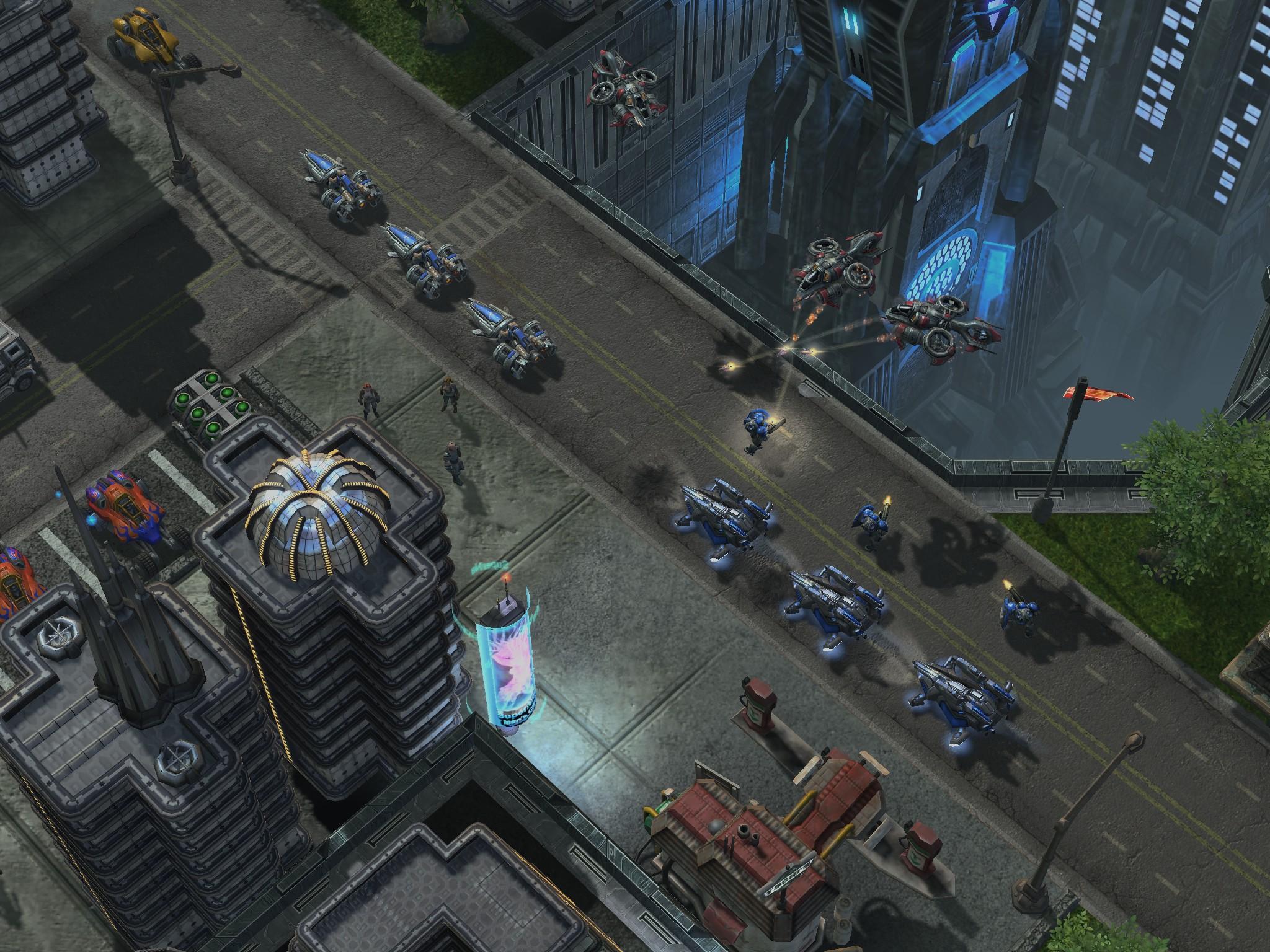 blizzcon 09《星际争霸2》新公布画面(1)_游戏新闻图片