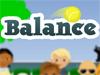平衡网球拍