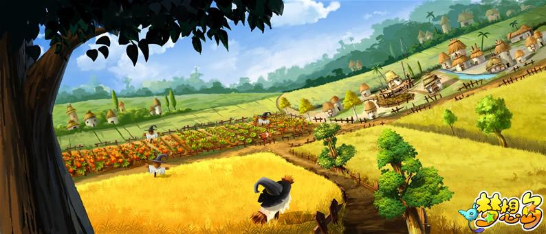 《梦想岛》游戏原画(2)