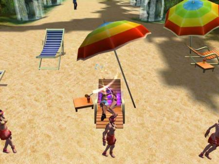 《巨人》沙滩约会美女拿高经验