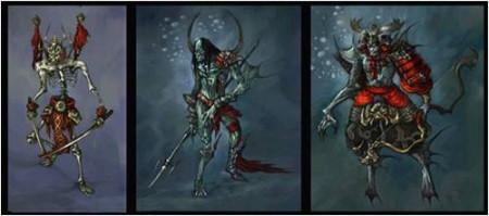 网游之骷髅骑士_黑暗势力的爪牙—骷髅骑士团(原画)