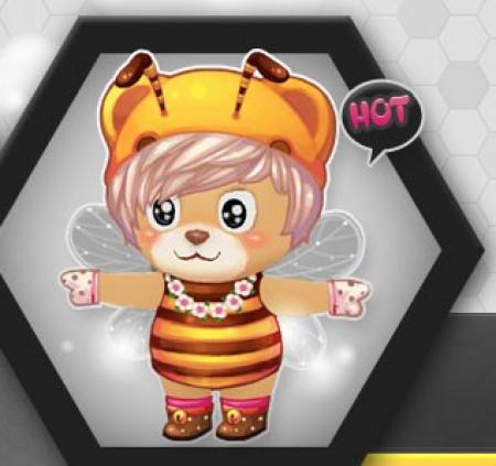 绝品小蜜蜂套装惊现《小熊梦工厂》