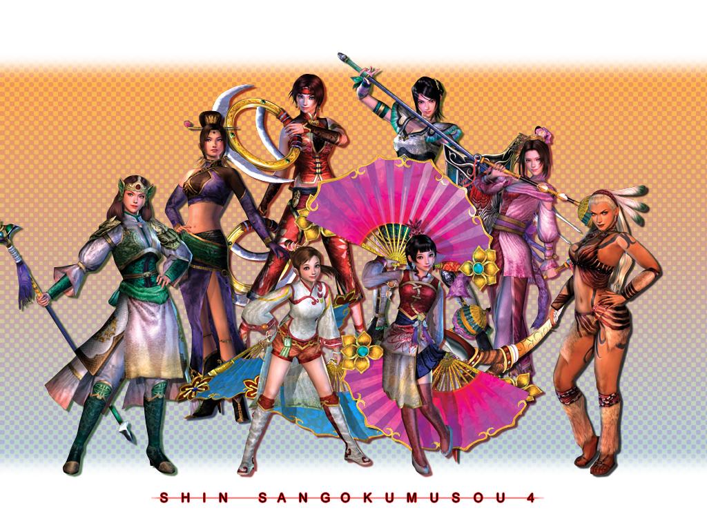 《真三国无双4》游戏壁纸
