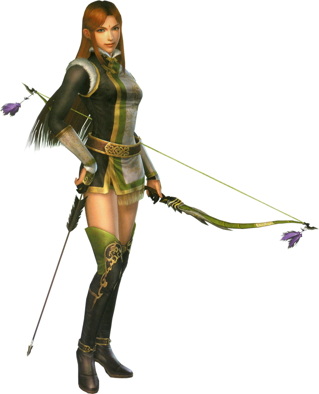Dynasty Warriors 6 Yue Ying on 757