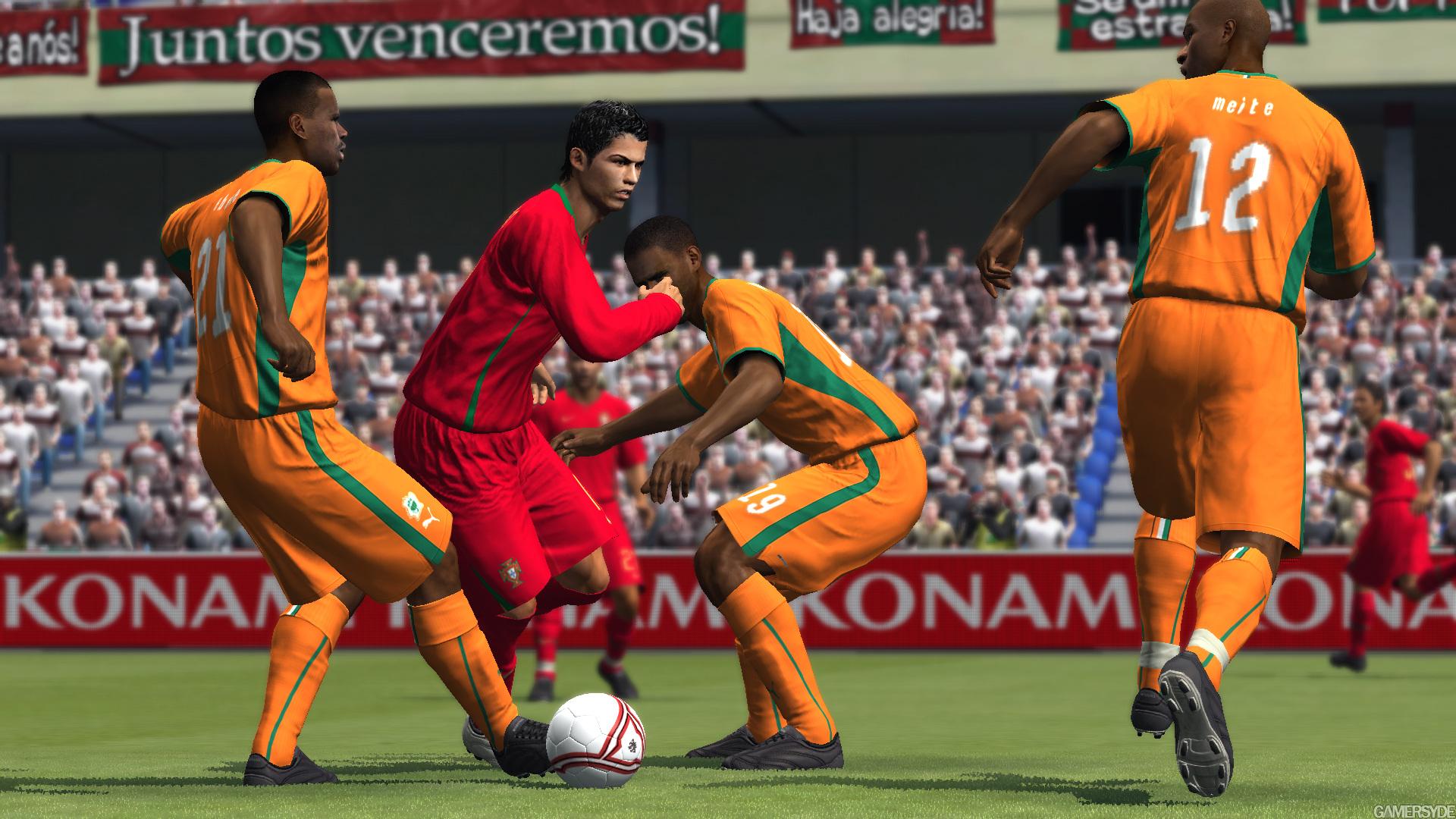 《实况足球2009》gc 2008游戏画面(7)