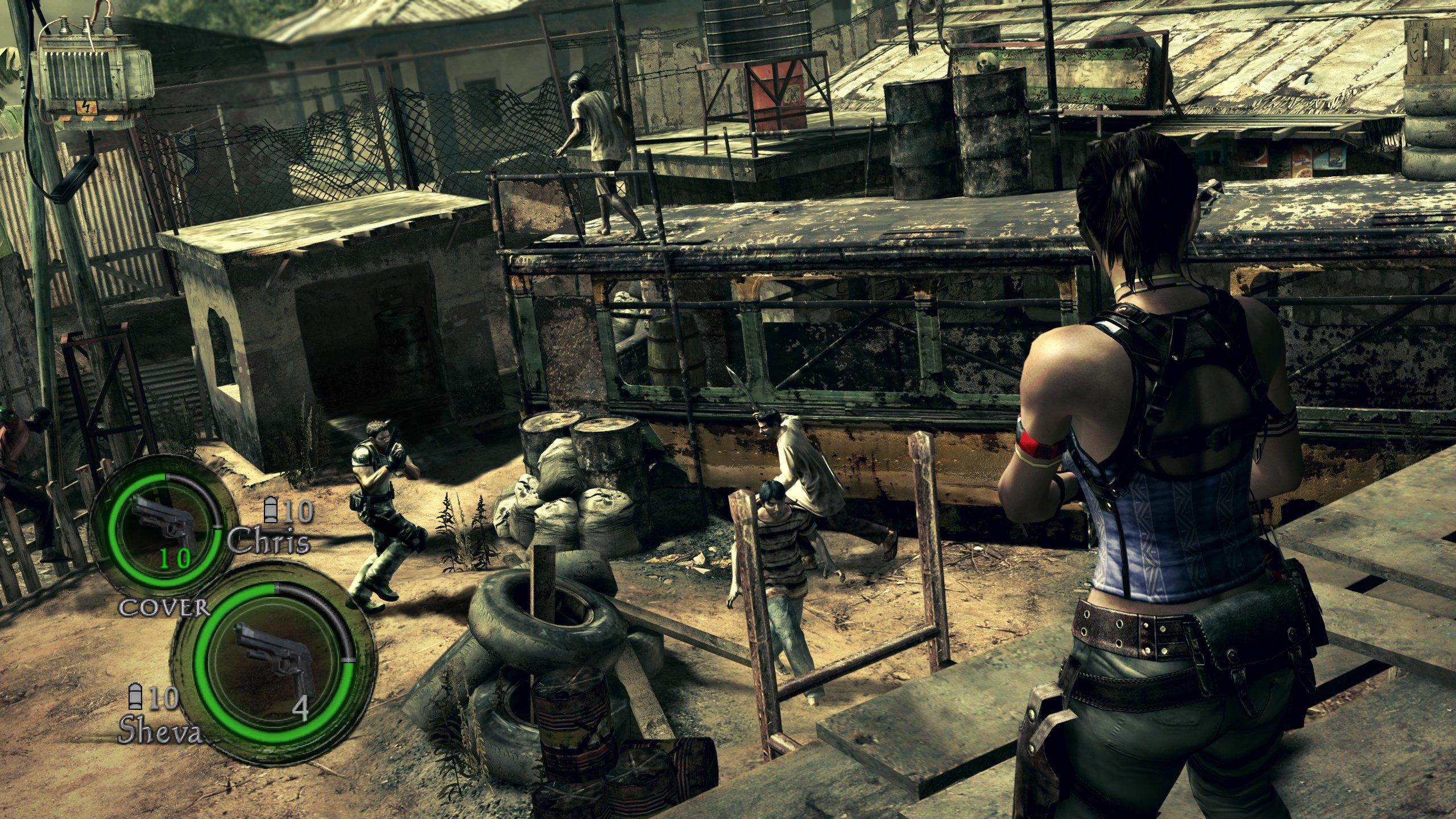 《生化危机5》最新游戏画面(2)图片